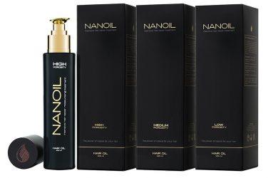 La meilleure huile pour cheveux - Nanoil